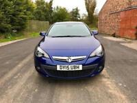 2015 Vauxhall Astra Gtc 1.4 i 16v Turbo SRi 3dr (start/stop)