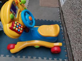 Ride on Vtech toddler car