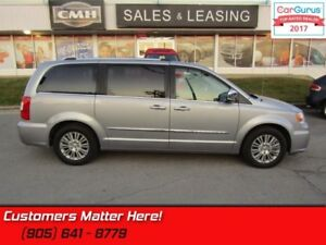 2014 Chrysler Town  Country Limited  NAV, DVD, ROOF, CAM, LEATHE