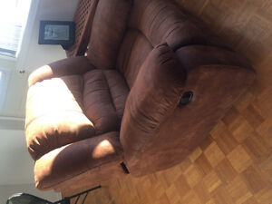 Reclining Couch and Chair