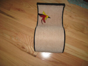 """Scratching pad good condition top and turn over 10""""x18"""""""
