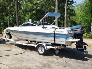 18' Doral with trailer & 140 Evinrude