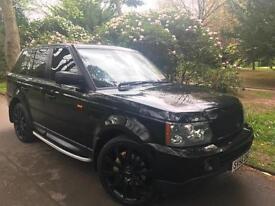 """Range Rover Sport 2.7TD HSE 22"""" Alloys,Full Black Pack,Family Business Est 1996"""