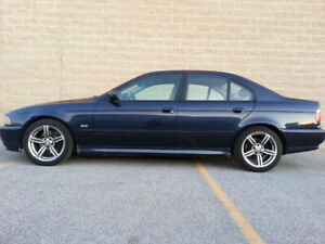2001 BMW 530i (E39), Manual Transmission, 213,000km, Sold As Is.
