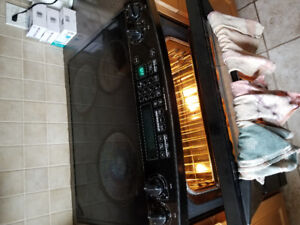 Convection oven and stove