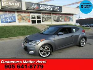 2012 Hyundai Veloster Tech  ROOF NAV HS  LEATHER 18 WHEELS