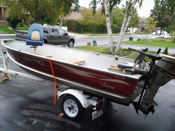 Used 2001 Lund Boat Co 14'