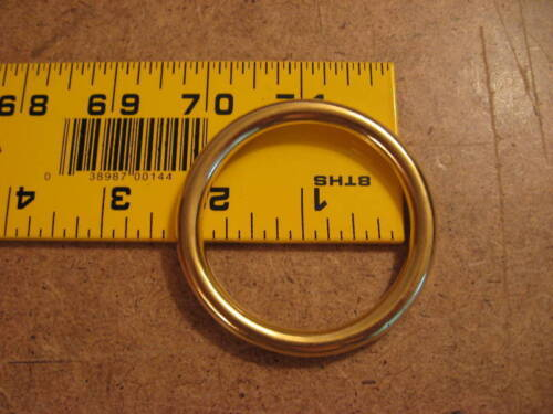 "2"" Solid Brass O Rings SCA (Pack Of 5)"