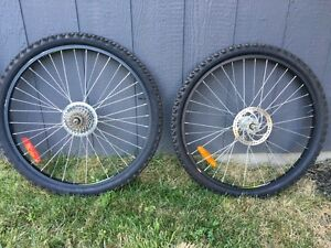 "26"" rims and tires Cambridge Kitchener Area image 1"