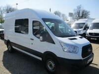 64 reg FORD TRANSIT L3 H3 RWD 125PS 350 CREW, MESS, MESSING UNIT, WELFARE VAN
