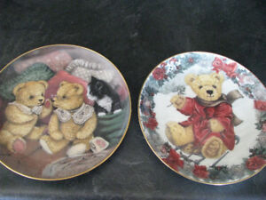 COLLECTORS DECORATIVE PLATES (TEDDY BEARS)