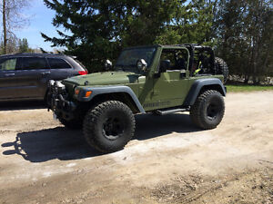 2006 Jeep Custom TJ With a Hemi