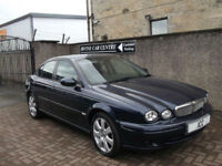 "07 57 JAGUAR X-TYPE 2.0 DIESEL EDN ""S"" 4DR BLACK LEATHER CRUISE CLIMATE ALLOYS"