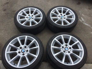 Oem bmw rim and tire