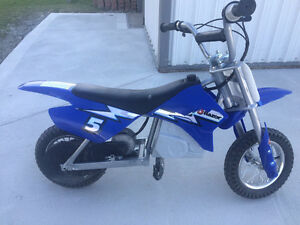 Razor MX350 Electric Dirt Bike - Great Condition