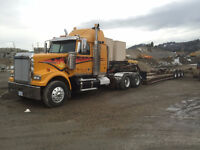 2008 Western Star with 1991 Peerless Tri-Axle