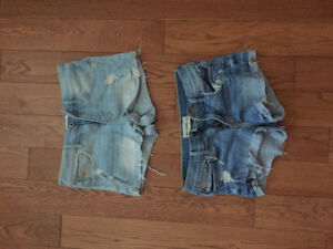 Abercrombie Girls Kids size 12 Jean shorts