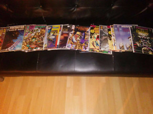 DC and Marvel comic books all for 150$