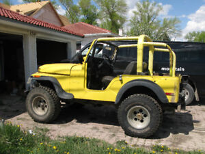 1975 Jeep CJ5 - It's now in SK