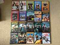 20 DVD Movies: 6 Assorted, Fast & Furious 1-6, Harry Potter 1-8
