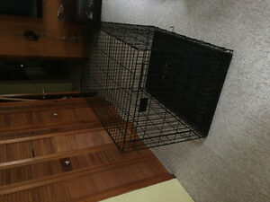 Big dog cage (used for German Shepherd )