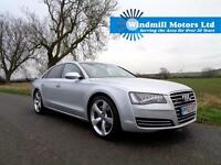 2014/63 AUDI A8 3.0 TDI SPORT EXECUTIVE TIPTRONIC QUATTRO 4DR SILVER - HUGE SPEC