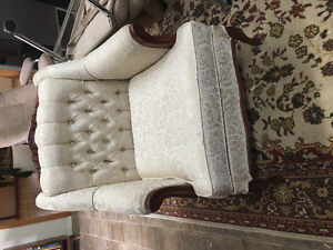 Antique chair and sofa