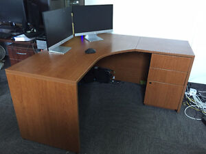 TWO IDENTICAL CORNER DESKS - $200 Each OBO