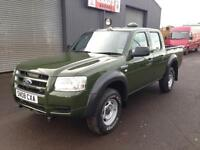 * SOLD * 2008 Ford Ranger 2.5 TDCi Double Cab *Forestry * Wildlife Conversion *
