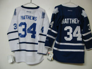 TORONTO MAPLE LEAFS OFFICIAL HOCKEY JERSEY MATTHEWS NWT
