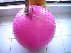 ENERGETICS PINK EXERCISE BIG BALL 2ft Height, FOR SALE - $20