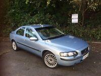 2003 Volvo S60 SE TURBO - Low Mileage Luxury Saloon - Leather + Full Service History + New MOT