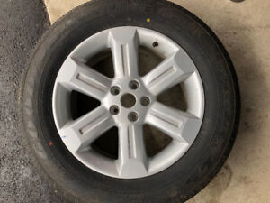 235-65-17,NEW SINGLE TIRE ON A RIM FOR NISSAN MURANO