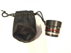 Rokinon 7.5mm f3.5 Fisheye Lens for Micro Four Thirds