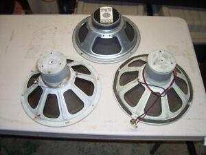 vintage 12in Alnico speakers & Celestion g12s-50