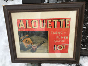 Annonce tabac
