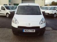 Peugeot Partner 716 S 1.6HDI 92ps Crew Van DIESEL MANUAL WHITE (2013)