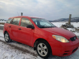 2004 Toyota Matrix Great Shape Winter Ready man. transm