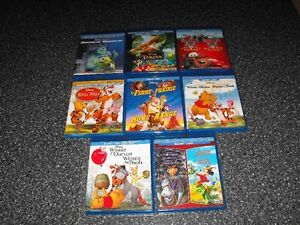 Films Blu-Ray DVD Walt Disney bandes sonores Francais/Anglais