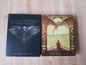 Game of Thrones Season 4 and 5 Blu-Ray