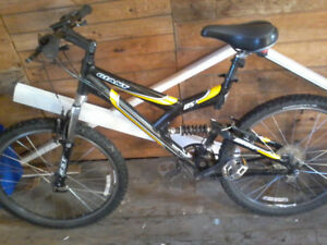 Giant warp ds3 full suspension bike with upgrades 175$(reduced).