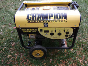 Génératrice Champion 3500W - Power Generator Used Was Working West Island Greater Montréal image 1
