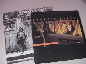 Francis Cabrel Le premier disque 1977&Photos de Voyage