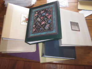 Photo Albums and Refill Sleeves