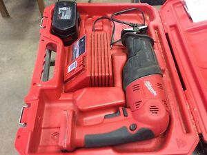 Milwaukee 18 volt sawzall