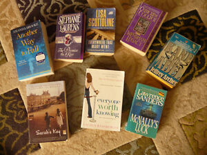 Assorted books, fiction