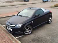 **SEL SWAP P/X** VAUXHALL TIGRA SPORT CONVERTIBLE LEATHER SEATSE FREE DELIVERY 17' ALLOYS LONG