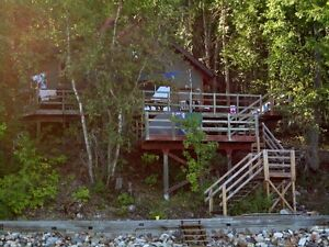 Mabel Lake Front Cabin and BC Government Lease