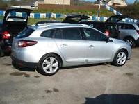 2012 Renault Megane 1.5dCi Dynamique TomTom Estate 5d **£20 Tax**