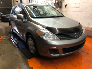 2007 Nissan Versa SL 137,000 kms never accidented